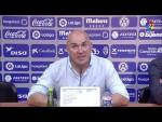 Rueda de prensa de Luis César Sampedro tras el CD Tenerife vs Real Oviedo (2-1)