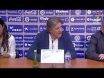 Rueda de prensa de Sergio Egea tras el CD Tenerife vs Real Oviedo (2-1)