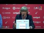 Rueda de prensa de Enrique Martín Monreal tras el Nàstic vs Elche CF (3-3)
