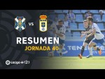 Resumen de CD Tenerife vs Real Oviedo (2-1)