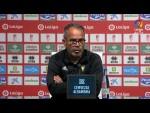 Rueda de prensa de Álvaro Cervera tras el Granada CF vs Cádiz CF (1-1)