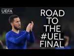 HAZARD takes you through CHELSEA's road to the #UEL Final!