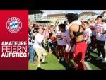 Zurück in Liga 3: Ribéry & Co. feiern den Aufstieg der FC Bayern Amateure!