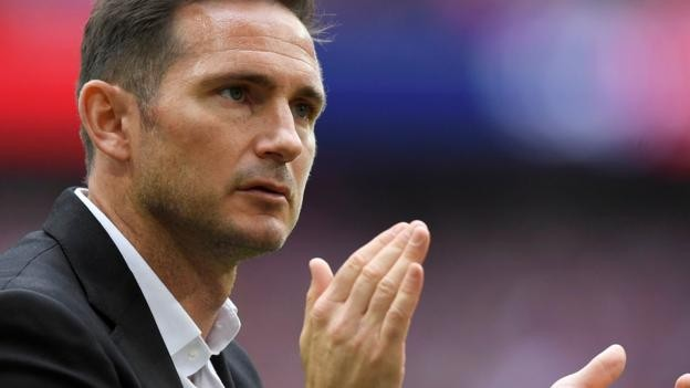 Frank Lampard: Derby boss expects to stay despite Chelsea link and play-off final loss