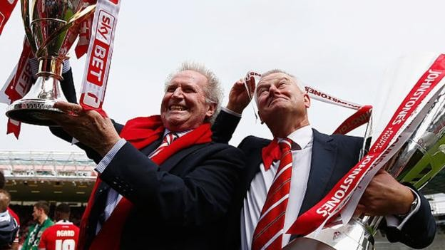Bristol City: Keith Dawe is replaced by Jon Lansdown as chairman