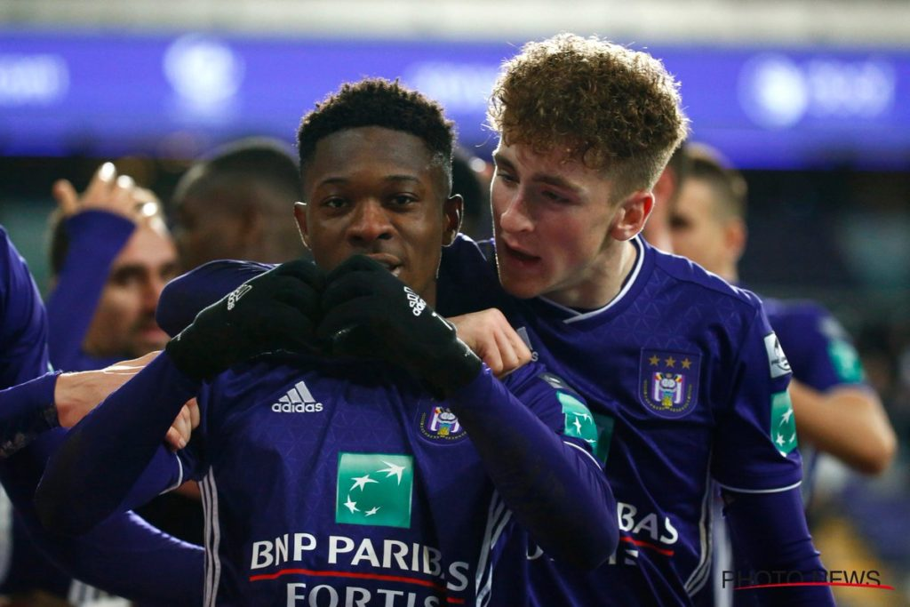 Ghanaian duo Amuzu, Doku to be key Anderlecht players under Kompany