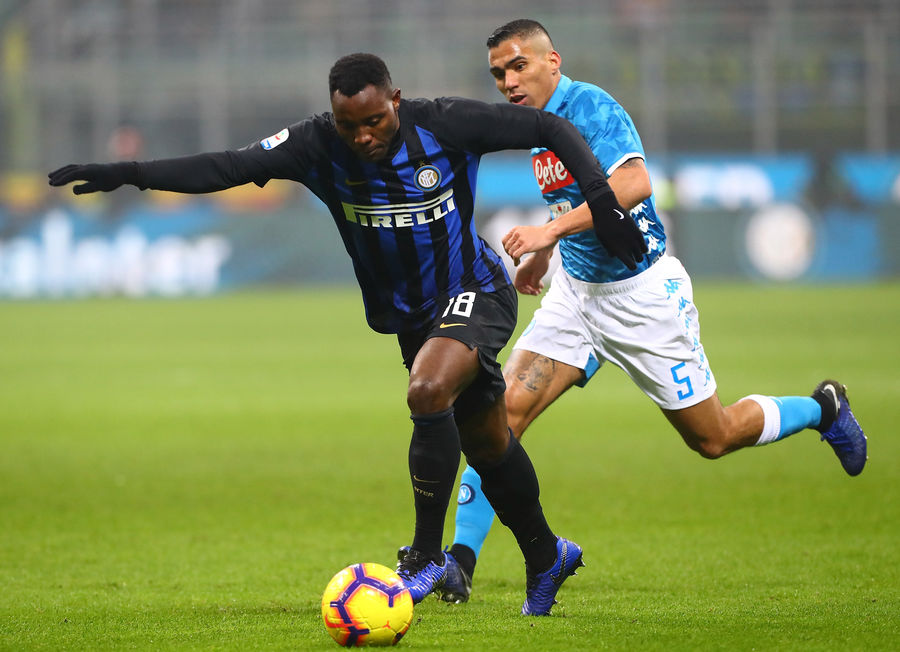 Kwadwo Asamoah features as Inter suffer heavy defeat to Napoli