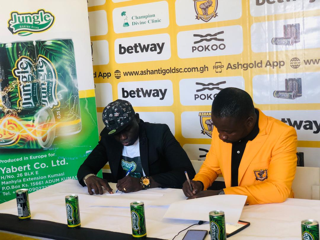 Ashantigold sign sponsorship deal with Jungle Energy Drink