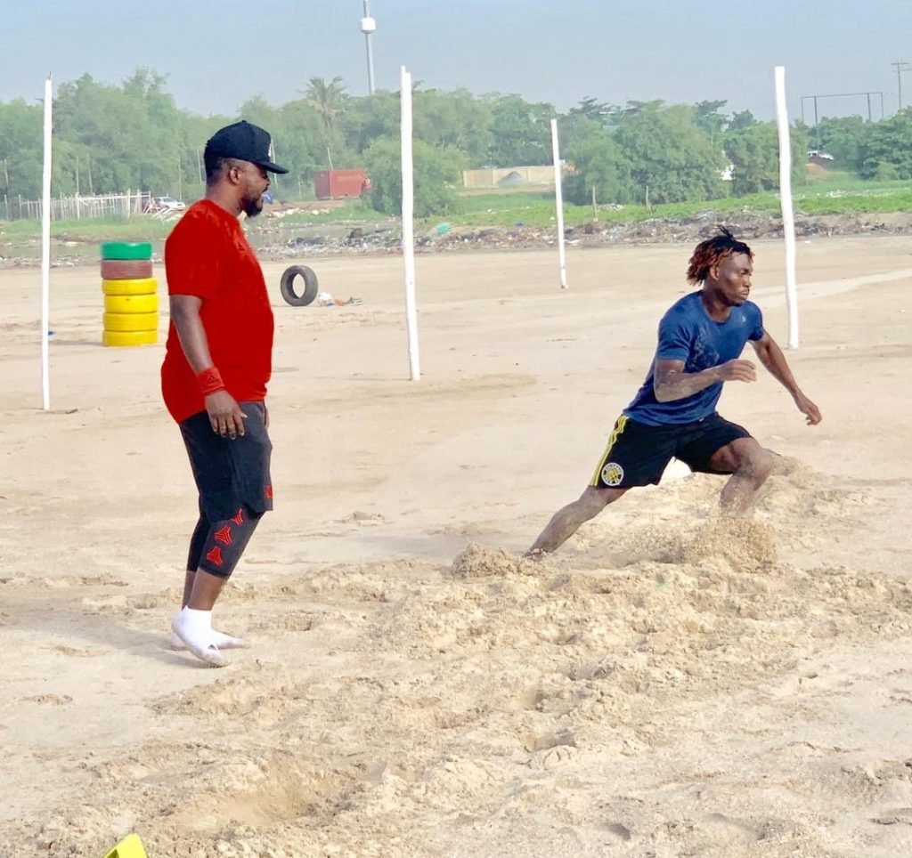 Ghana winger Christian Atsu kicks off AFCON 2019 preparations
