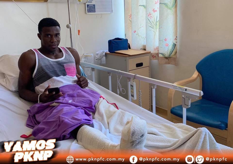 EXCLUSIVE: Malaysian side PKNP axe midfielder Thomas Abbey due to long-term injury