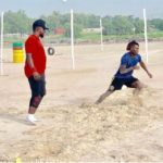 VIDEO: Newcastle star Christian Atsu intensifies training at the beach for 2019 AFCON