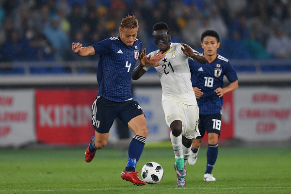 Dropped striker Emmanuel Boateng wishes Black Stars luck ahead of AFCON 2019
