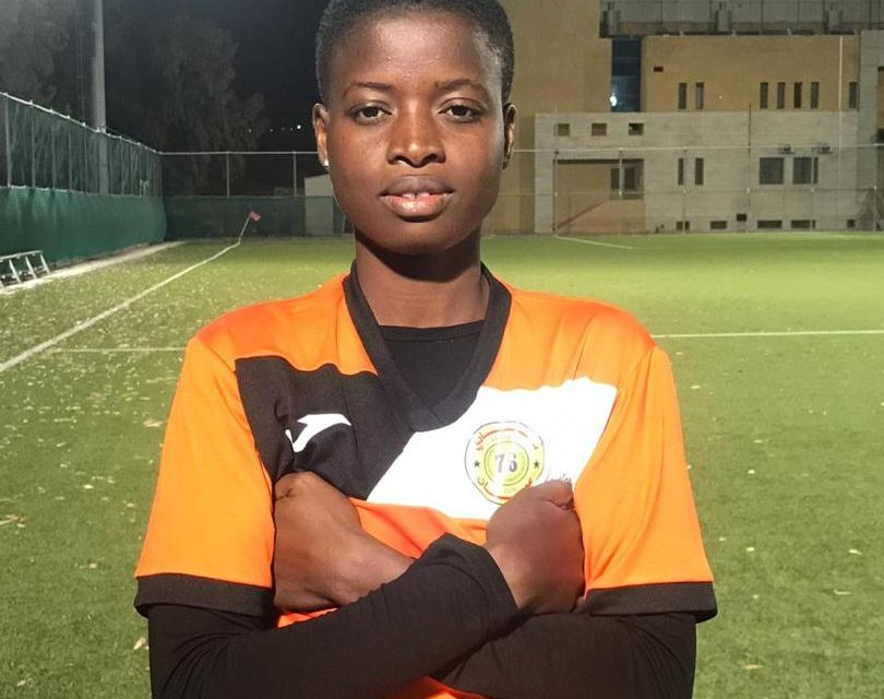 Police Ladies defender Cynthia Adjei signs for Amman Club in Jordan