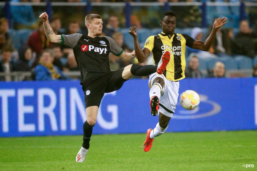 Dauda Mohammed happy to reach play-off final for Europa League qualification with Vitesse Arnhem