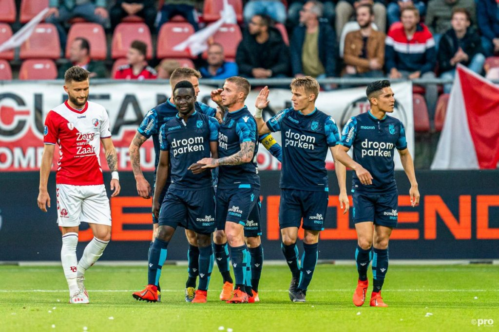 Duada Mohammed expresses delight over assist for Vitesse Arnhem in playoff draw with FC Utrecht