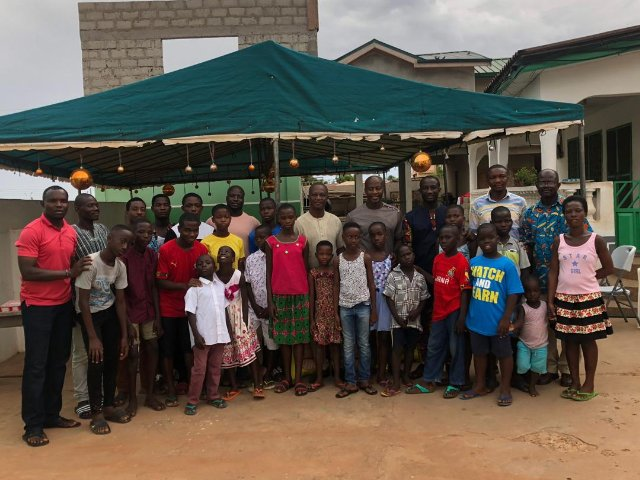 2019 Africa Cup of Nations: Black Stars technical team donates to Teshie Children's Home
