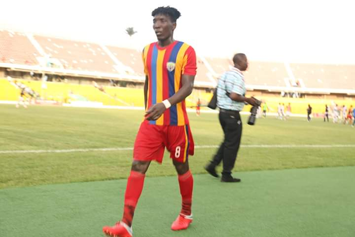 Special Competition: Benjamin Efutu named Man of the Match in Hearts' victory over Elmina Sharks