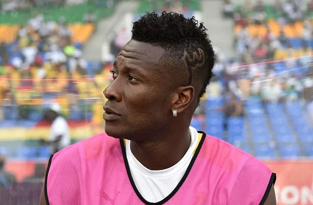 2019 Africa Cup of Nations: Asamoah Gyan fails to make Ghana's starting line-up in final friendly against South Africa