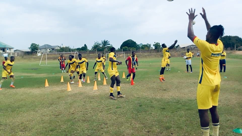 VIDEO: Hearts of Oak hold final training ahead of Kotoko clash