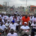 Ex-Kotoko chief Herbert Mensah leads thousands to walk for victims of May 9 disaster