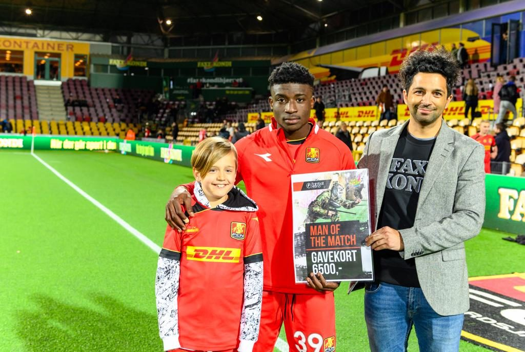 Kudus took the Man of the Match award in the clash with Brondby