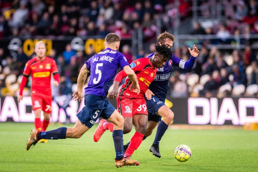 Video: Ghana teenage prodigy Mohammed Kudus takes Denmark top-flight by storm