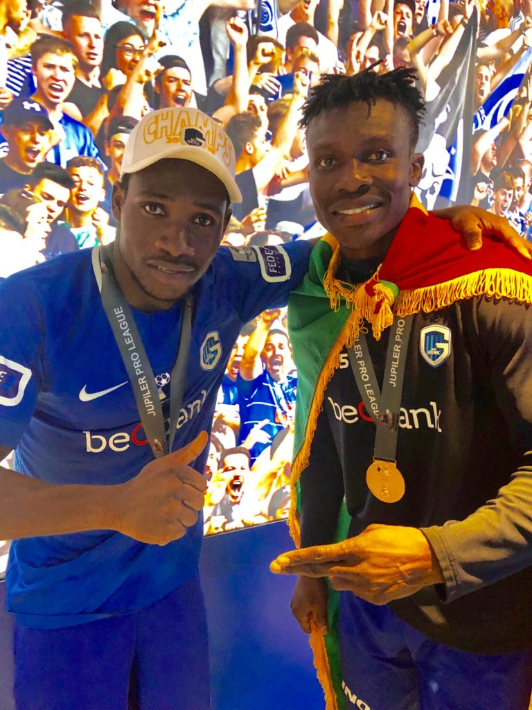 Ghana duo Aidoo, Paintsil crowned Belgian league champions with Genk