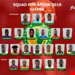 2019 Africa Cup of Nations: Three Africa-based players in Ghana squad for Egypt tournament