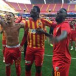 Performance of Ghanaian players abroad wrap-up: Gyan bags brace for Kayserispor, Agyepong in action for Hibernian