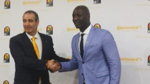 Caf seals mammoth Continental Tires sponsorship deal for AFCON