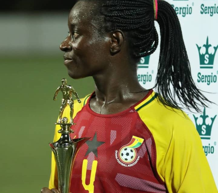WAFU Zone B Championship: Janet Egyir named MVP in Ghana's win over Senegal