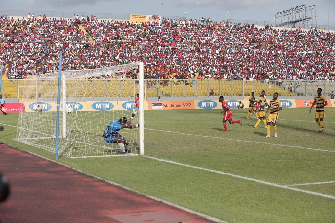 VIDEO: Asante Kotoko beat ASEC Mimosas to lift trophy MTN Otumfuor Cup