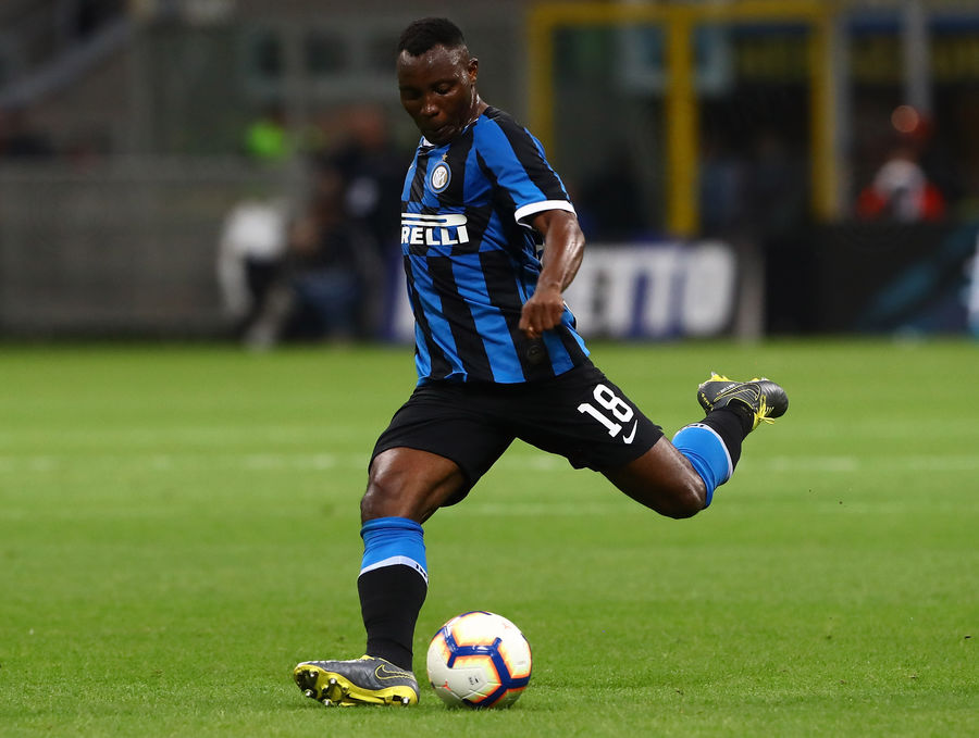 Kwadwo Asamoah features as Inter sink Empoli to secure Champions League spot
