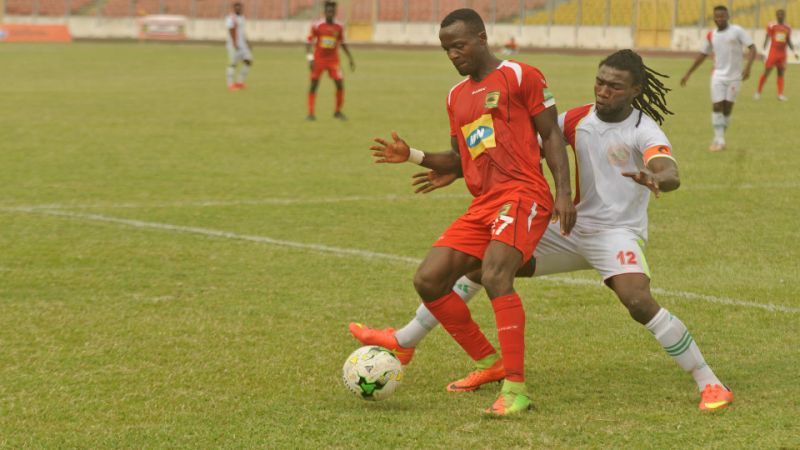 Special Competition: We helped Ashantigold to qualify - Eleven Wonders defender Kwadwo Amoako