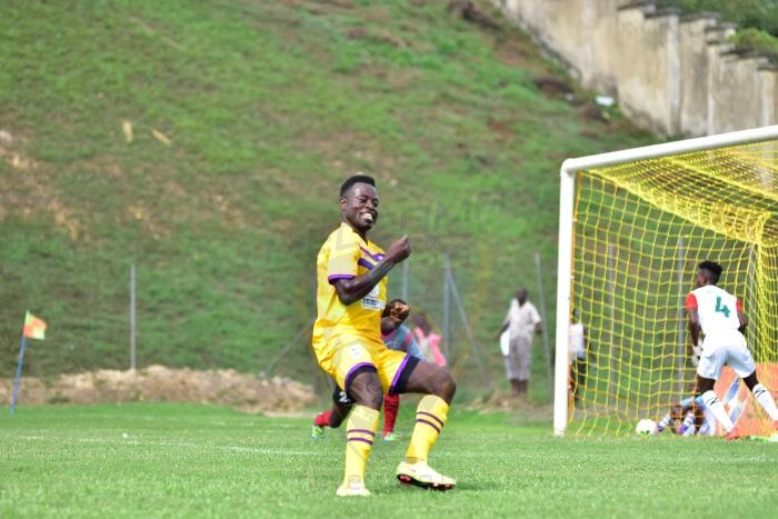 Medeama part ways with striker Kwame Boateng