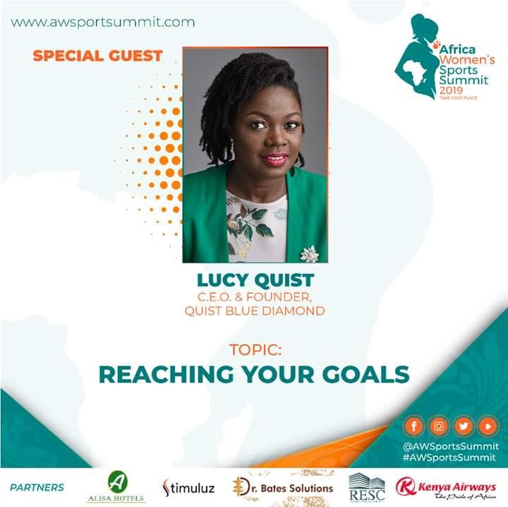 Lucy Quist to speak at Africa Women's Sports Summit