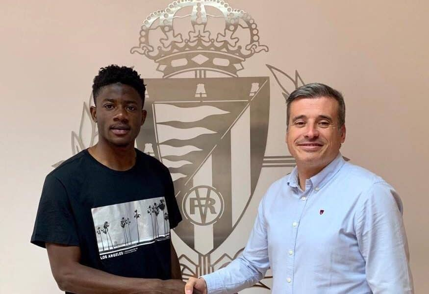 Ghanaian youngster Mohammed Salis extends contract at Spanish side Real Valladolid