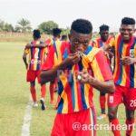 Hearts sensation Manaf Umar wants to improve goal-scoring prowess