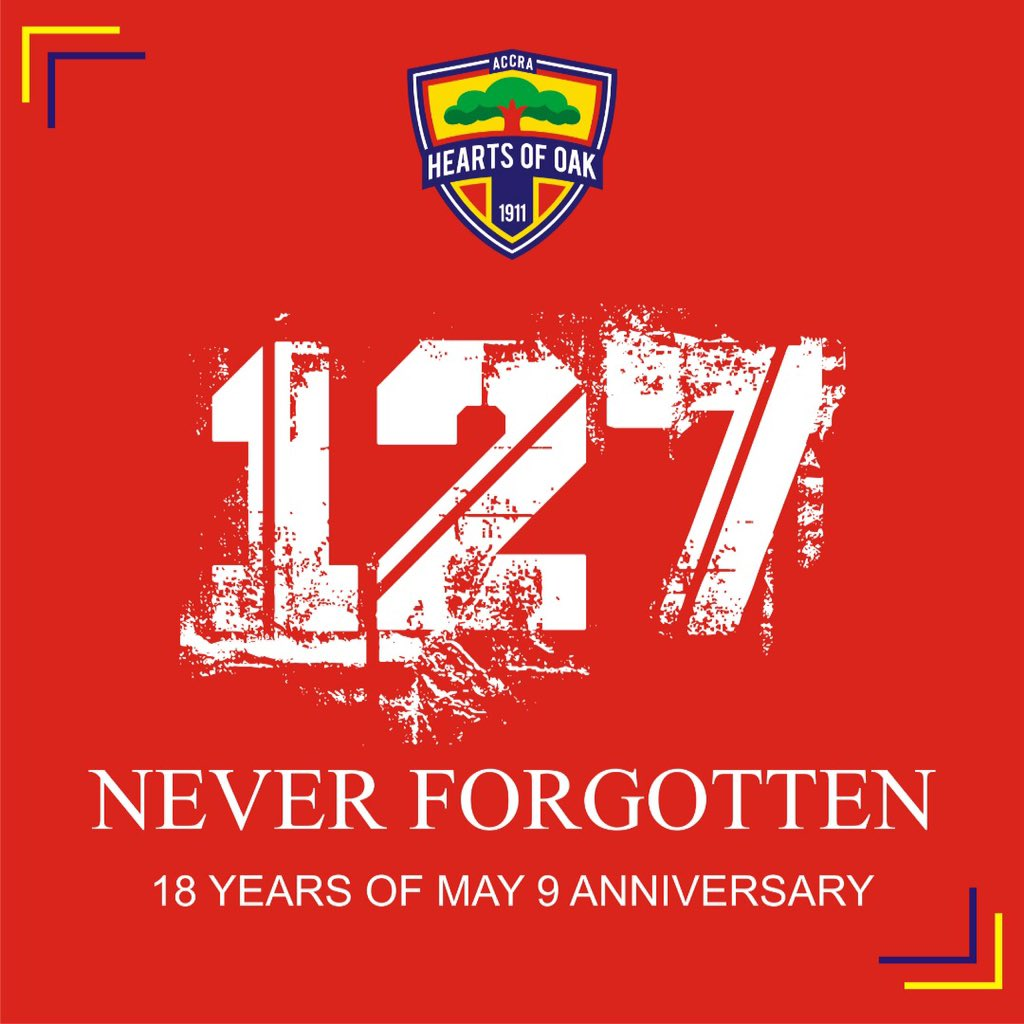 Hearts of Oak remembers May 9