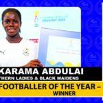 Mukaram Abdulai: Northern Ladies star crowned SWAG Women's Footballer of the Year