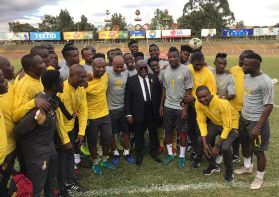 Ghana president Nana Akufo-Addo to host Black Stars to AFCON farewell dinner on Friday