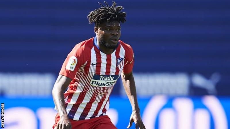 It's hard for me to talk about transfers- Thomas Partey reveals amidst Arsenal interest