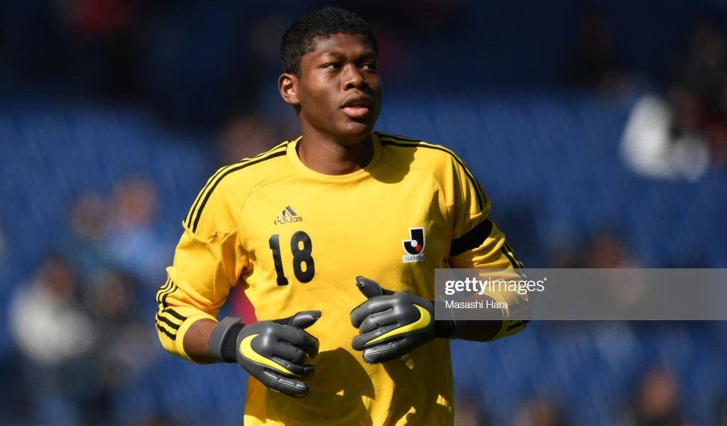 Ghanaian goalkeeper Zion Suzuki to represent Japan at FIFA U-20 World Cup