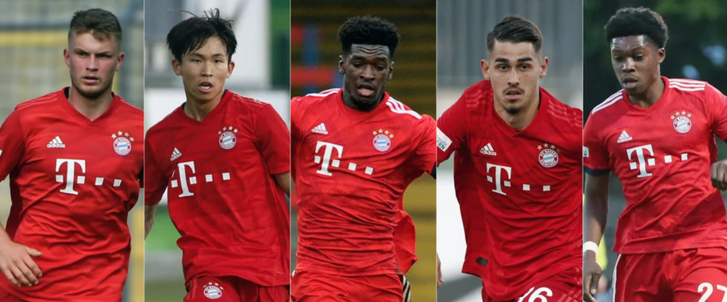Kwasi Okyere Wriedt among FIVE Bayern Munich reserve players to watch