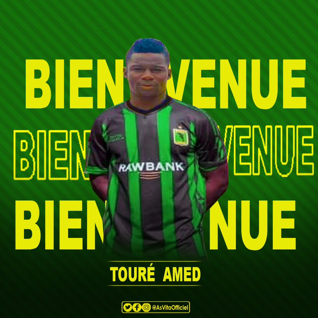 Former Kotoko forward Ahmed Toure joins Congolese giants AS Vita
