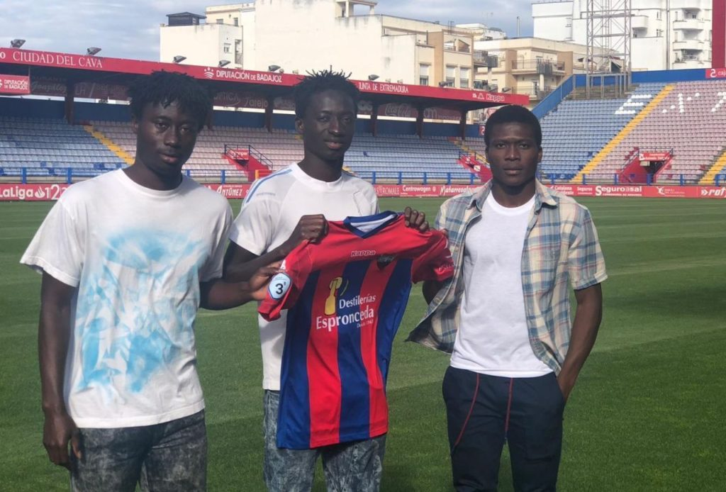 Spanish side Extremadura UD sign Ghanaian trio