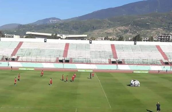 VIDEO: Algeria U23 draw 4-4 with USM Alger in friendly ahead of Black Meteors tie