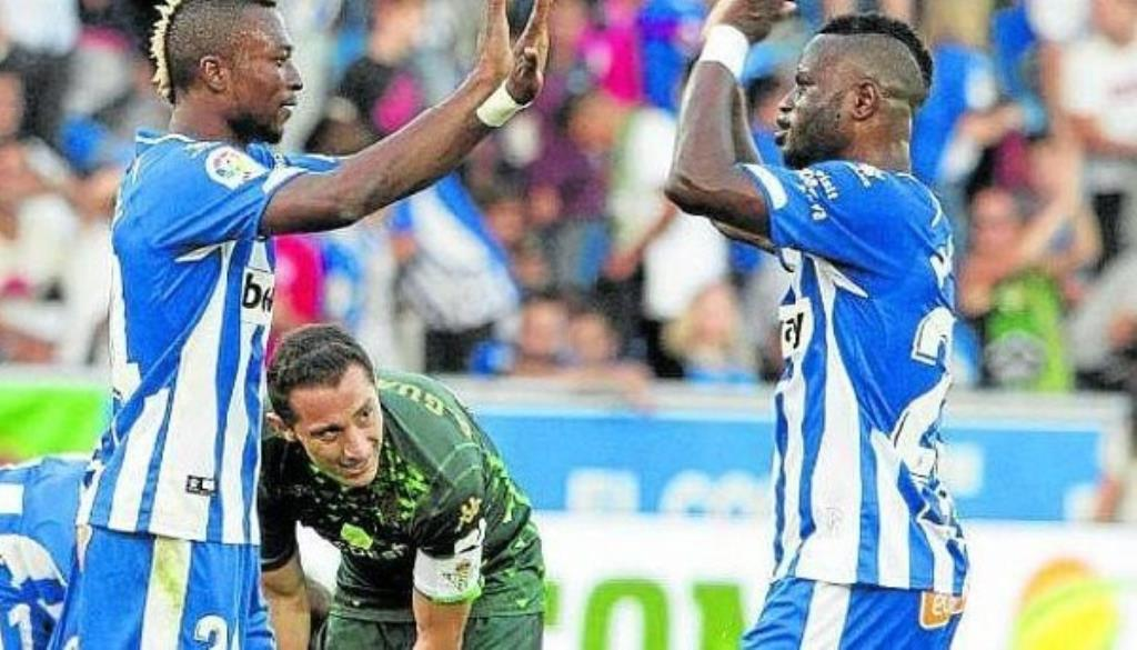 Ghanaian duo Wakaso, Twumasi could leave Deportivo Alaves following the arrival of new manager in the summer