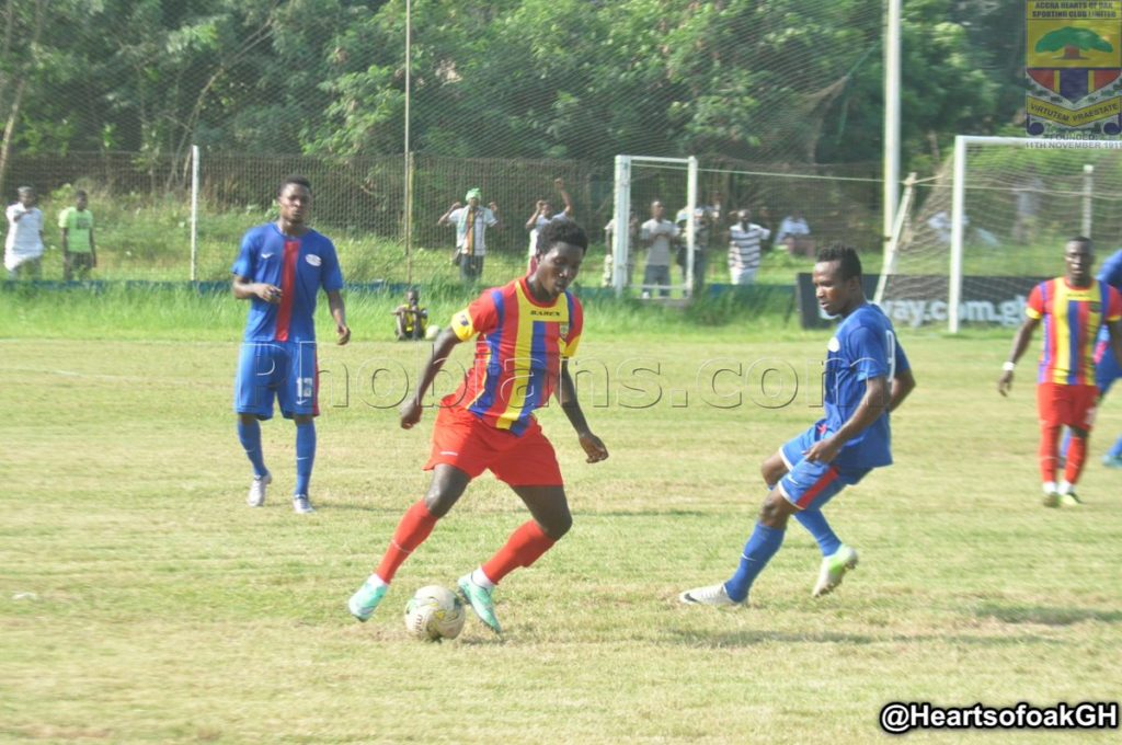 Hearts defender William Dankyi makes quick injury recovery, set to face Liberty Professionals