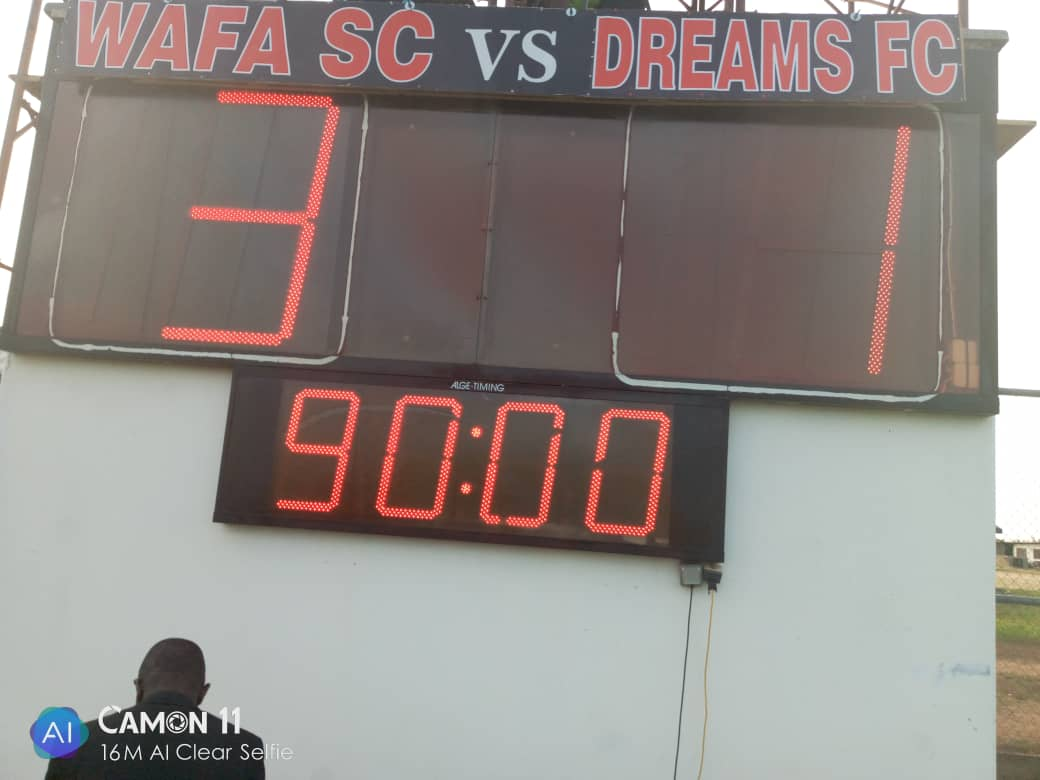 Special Competition: WAFA SC 3-1 Dreams FC- Jamal Harua sparkles with brace as Academy Boys bounce back